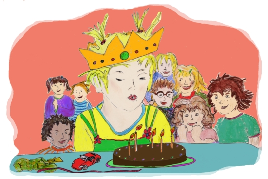 Im Kinderladen Garuda e.V. gibt es oft etwas zu feiern, zum Beispiel die Kindergeburtstage übers Jahr.